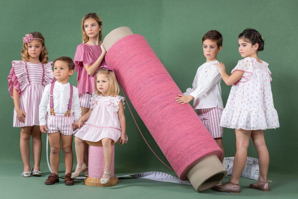 colecciones exclusivas de moda infantil