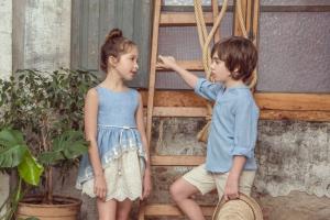 colección de moda infantil primavera-verano
