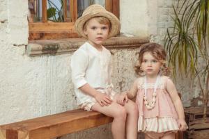 colección de moda infantil primavera-verano para niños